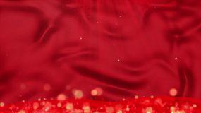 4K红旗背景-循环2视频素材