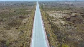内蒙古通辽奈曼沙漠汽车拉力赛宝古图孟家段视频素材