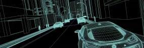 原创三维4K科技城市C4D工程C4D工程
