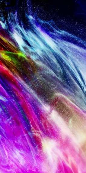 竖屏粒子颜料流动背景视频素材