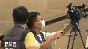 摄像摄影新闻媒体工作人员网络直播视频素材
