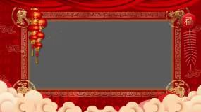2021春节拜年-带通道视频素材包