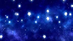 4K卡通童话儿童歌曲舞蹈星空背景视频素材