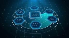 大气科技信息分类AE模板AE模板