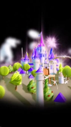 城堡梦幻城堡视频素材包
