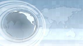 业务介绍地球背景视频素材