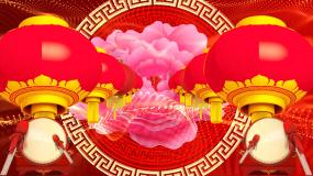 美丽的心情新年春节舞台晚会背景视频素材