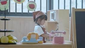 4k深圳教育幼儿园小朋友模拟大人视频素材包
