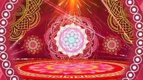 西域印度舞天竺少女配乐成品视频素材