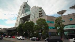4K湖南广电大楼移动拍摄空镜视频素材包