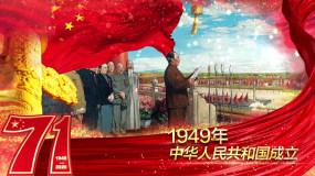 【原创】国庆节建国71周年开场AE模板AE模板