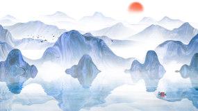 古典江南水乡山水文化LED视频视频素材