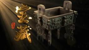 大气震撼金色图文展示ae模板包装AE模板