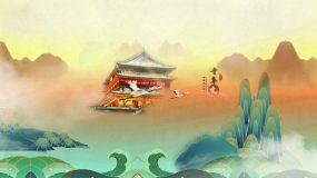 中国国潮水墨风图文片头AE模板AE模板