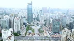 广西南宁城市五象广场视频素材