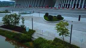 广西南宁广西文化艺术中心2视频素材