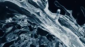 水流体视频素材