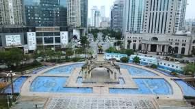 广西南宁城市五象广场3视频素材