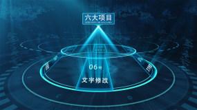 【六】全息数据科技框架板块AE模板AE模板