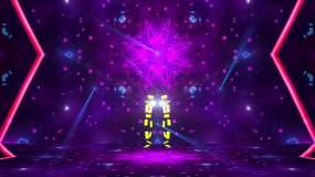 护花使者卡片人跳舞灯光秀2020新版视频素材