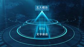 【五】全息数据科技框架板块AE模板AE模板