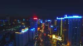 西安人民银行科技路视频素材