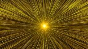 金色粒子震撼开场-2视频素材
