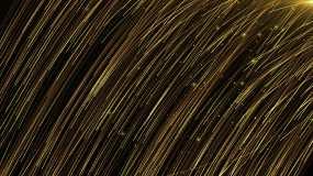 金色开场粒子背景-18视频素材
