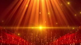 4K红绸舞台大气背景循环视频素材