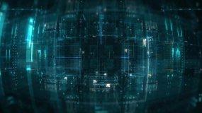 C4D高分辨率抽象电子科技风格贴图C4D工程