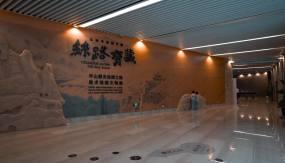 4K丝绸之路美术馆藏文物展视频素材