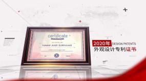 党政企业证书荣誉奖牌专利文件展示AE模板AE模板