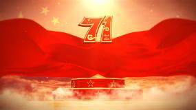 新中国成立71周年片头视频【无字版】视频素材