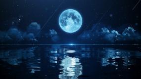 一组海上生明月唯美视频视频素材