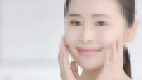 唯美美女洗脸/抚摸脸蛋肌肤/微笑自信视频素材包