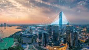 北上广深震撼科技互联网城市AE模板