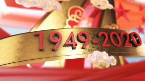 震撼大气国庆中秋质感片头-E3D源文件AE模板