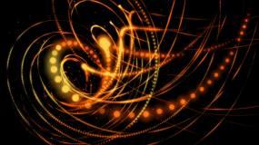 透明通道创意粒子线条背景视频素材