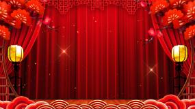 曲艺戏曲舞台中国风背景视频素材