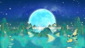 唯美月亮04B视频素材