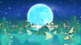唯美月亮04A视频素材