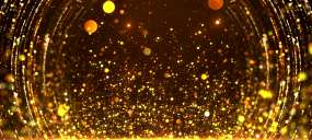 大气粒子光斑光效上升背景视频素材
