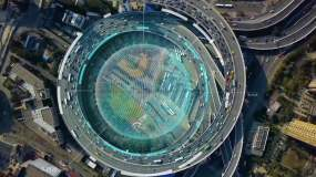 【原创拍摄】5G通信智慧城市光线科技元素AE模板