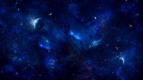 宇宙星空4K可循环视频素材