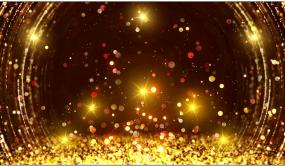 大气星光粒子上升LED舞台背景视频素材