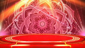 喜庆民族舞异域歌舞背景视频视频素材