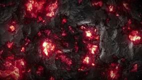熔岩岩浆背景视频素材
