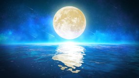 唯美月亮4k(2)-无缝循环视频素材