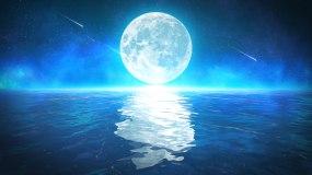 唯美月亮4k-无缝循环视频素材