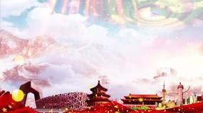 党政晚会背景LED视频视频素材